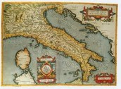 How did the Northern Italian cities benefit from their geographic location?