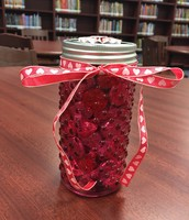 Sweet Treats Jar filled with Hershey's Kisses