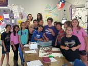 Mrs. Gordon's Environmental Science Class Celebrates Earth Day with the Elementary Students