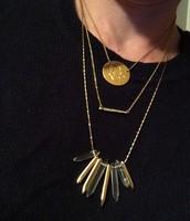 Rebel Cluster Necklace - $79