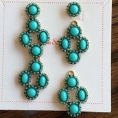 Sardinia Chandeliers Turquoise