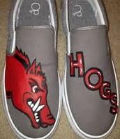 zapatos rojos y grises por perfecto madison