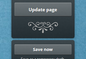 2. The Update and Save buttons