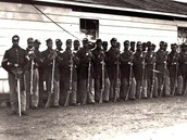 The 54th Regiment at Camp Meigs