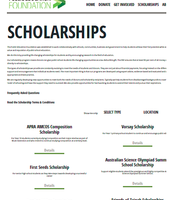 Public Education Foundation Scholarship closing date 26/10/15
