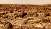 Soil on Mars