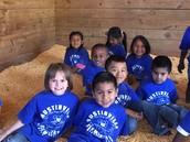 Austinville Kindergarten Visits Gullion Farms