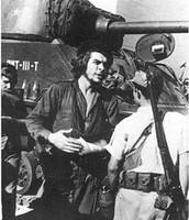 Che Guevara in the Cuban revolutiom