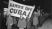 People of Cuba protesting