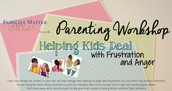 Helping Kids Deal with Frustration and Anger
