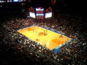 Madison Square Garden basket ball court