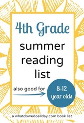 Summer Books for 4th Graders