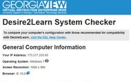 Complete the D2L Browser/System Check.