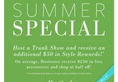 Deals for June Trunk Show Hostesses