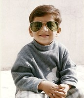 Here is Aashir looking snazzy in sunglasses
