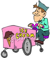 """""""I see her eyes following the ice cream man."""""""