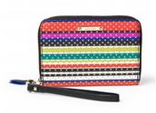 Chelsea Tech Wallet - Crazy Stripe $30