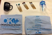 OKA+ SWAG FOR SALE AT THE CONFERENCE