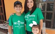 Gael, Natalie y Mrs. Torres