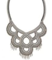 SOLD Tallulah Bib Necklace