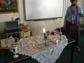 Havdallah table