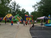More inflatables.  We had so much fun!