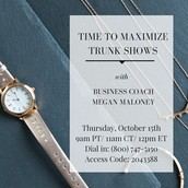 Maximize Trunk Shows