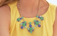 Juniper statement necklace - NOW $75