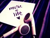 Love hearing music