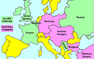 Allies and Central powers