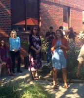 LMS Sensory Garden Dedication