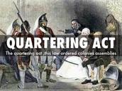 Quartering Act....