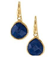 SOLD--Serentity Small Stone Drops--Lapis $15
