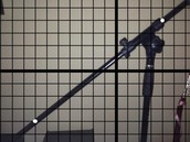 My linear function is a microphone stand