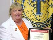 Distinguished Toastmaster Award 2012