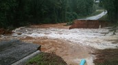 Roads Washed Away