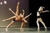 beautiful modern dancing