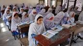 Malala in School