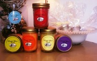 Our candles come in various fragrances