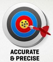 7. Be precise.
