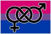 A classic bisexual symbol