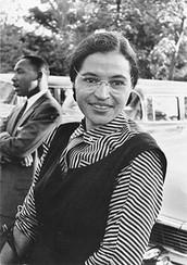Rosa Parks (June 4, 1913)