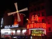 Moulin Rogue show Paris