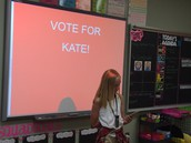 Vote for Kate!