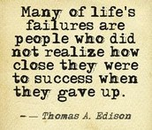 Wise Words from Thomas Edison