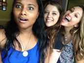 Jessica, Morgan, and I