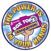 """""""Box Tops"""" para la Educación"""