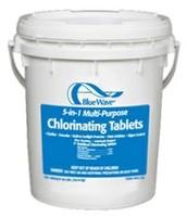 Chlorine pool supplies