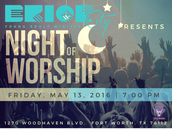 Join us May 13th for our Worship Night!