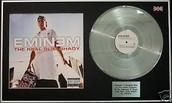 Eminem's platinum album